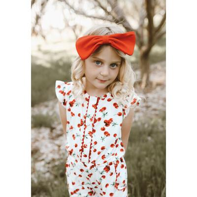 Goldie Cherry Romper