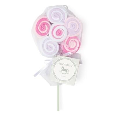 12pk Lollipop Washcloth