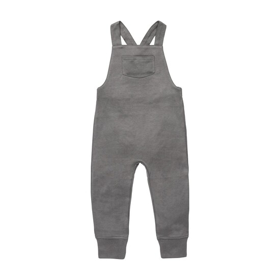 Oil Overalls-Pewter 12-18M