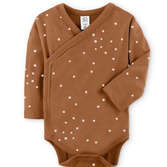 Kai Kimono bodysuit-square dot