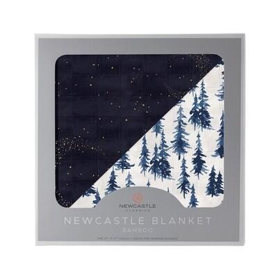 Muslin Blanket-Midnight