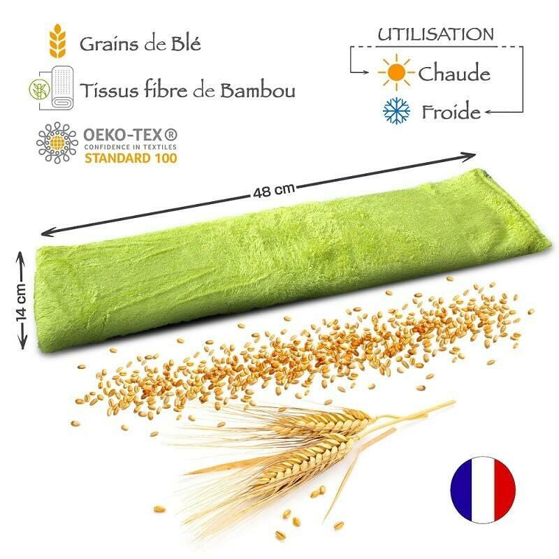 Bouillotte sèche naturelle - Bambou'hot - Lot de 2