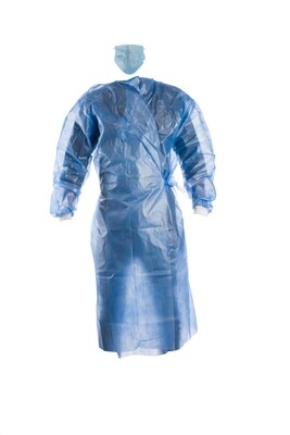 Disposable Gown - Laminated Fabric Splash Proof