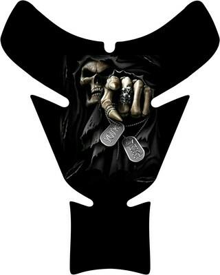 Reaper You Next Skull Tank Pad. Universal Fit