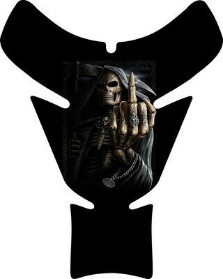Reaper Up Yours Skull Tank Pad. Universal Fit
