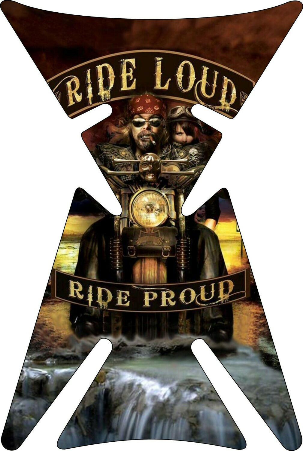 Retro Design - Vintage Tank Pad Ride Loud