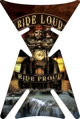 Retro Design - Vintage Tank Pad Ride Loud
