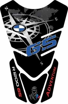 BMW R 1200 RS Tank Pad. . Colour Available   Blue, Silver, Gold or Red. Universal Fit