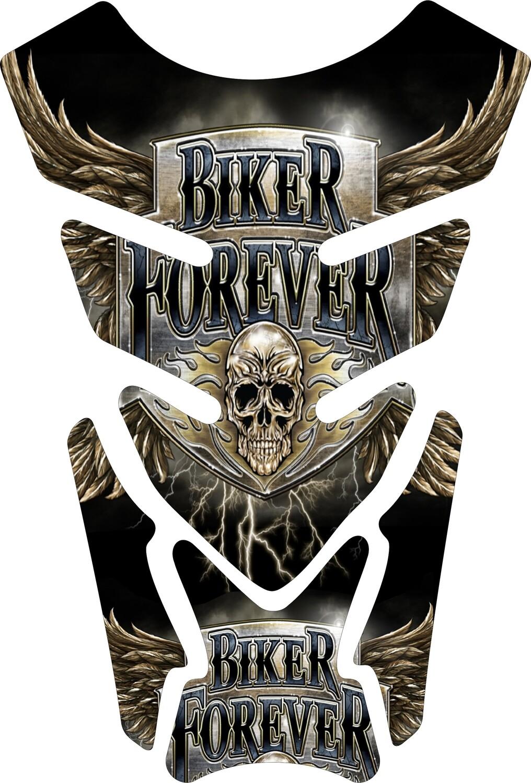 Biker Forever Retro Motor Bike Tank Pad. Universal Fit