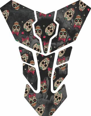 Transformer Tank Pad - Day of the Dead Universal Fit
