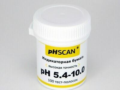 Индикаторная бумага pHSCAN 5.4-10.0