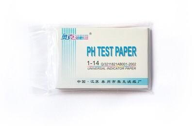 pH-тест: лакмусовая индикаторная бумага pH 1-14