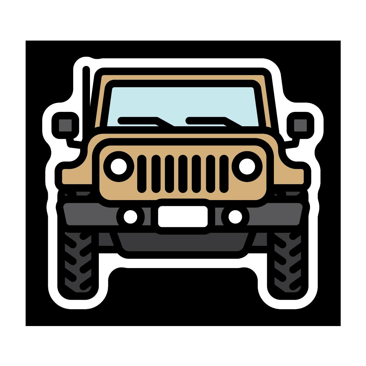 Idaho Jeep Sticker
