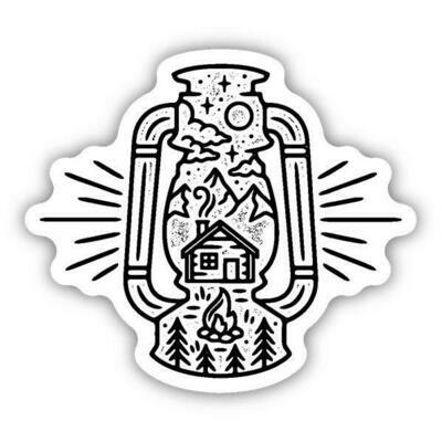 Idaho Lantern Sticker
