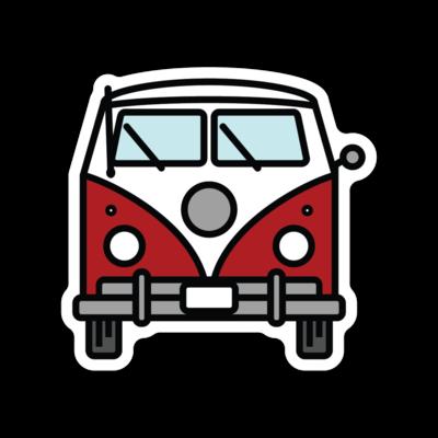 Idaho Bus Mad River Sticker