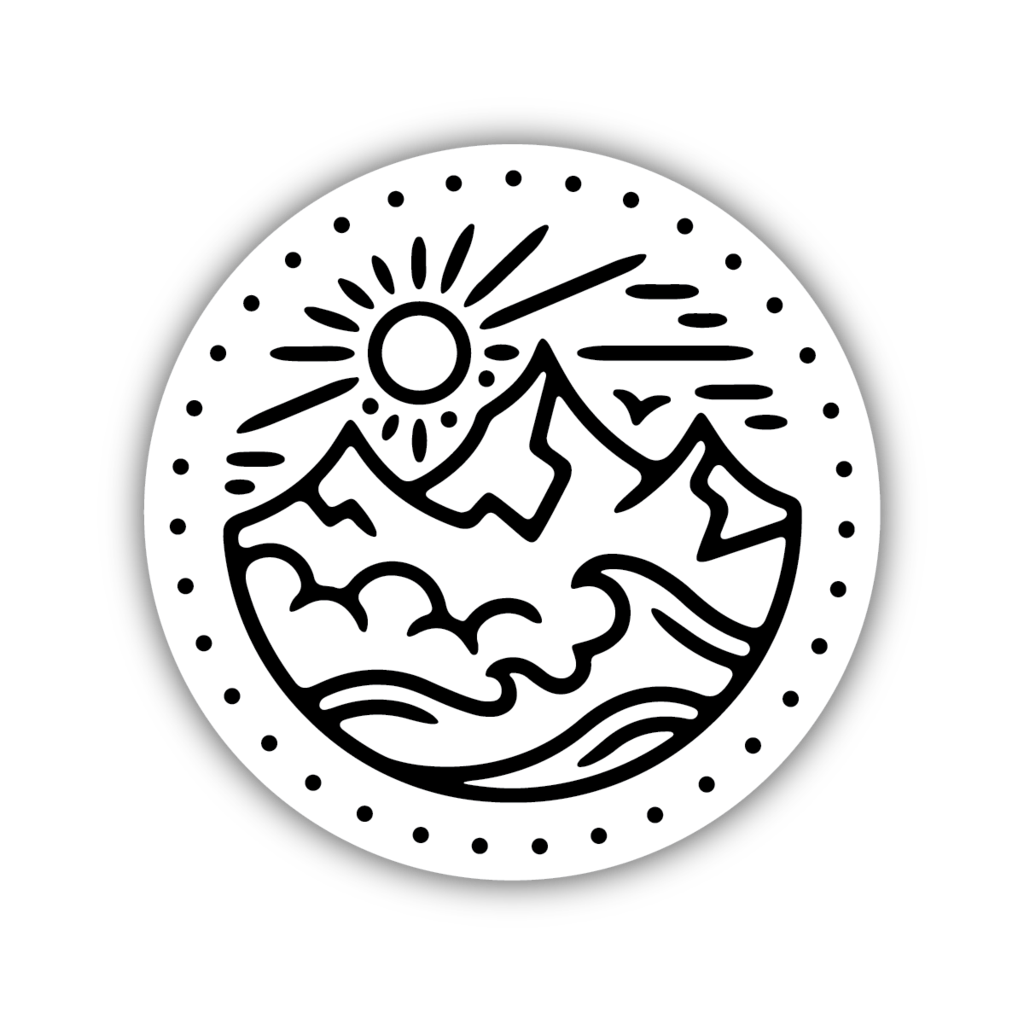 Sun Mountain Sticker