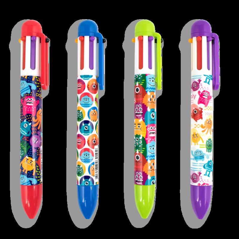6 Click Pen Monsters