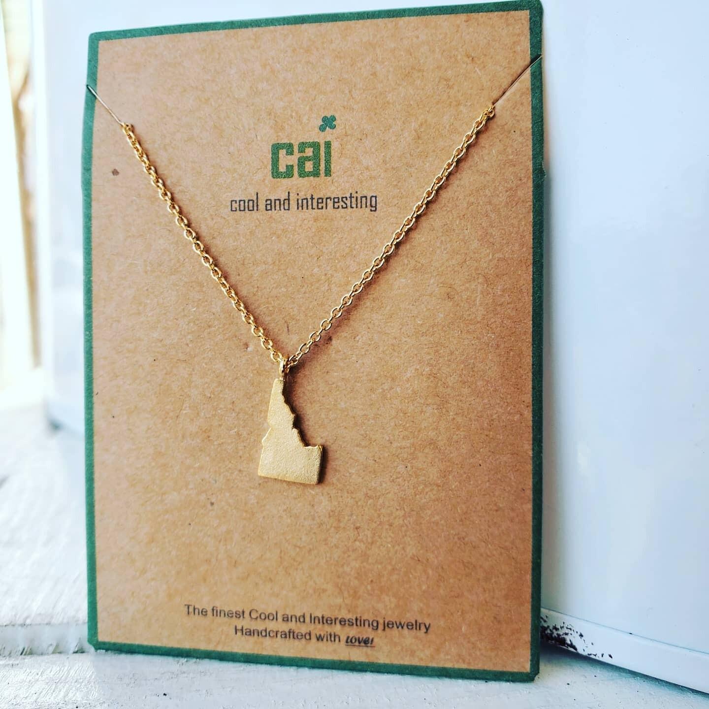 Dainty Idaho Necklace