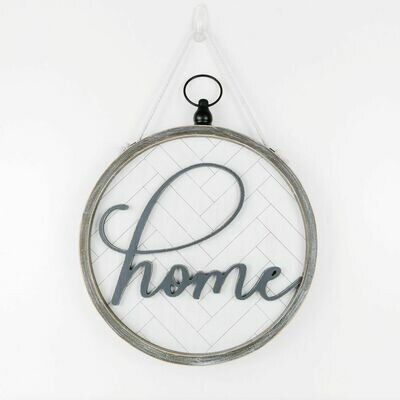 HOME 2sided sign