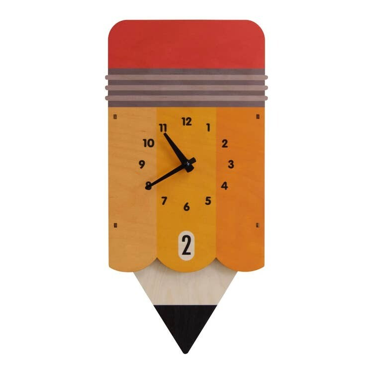 Pencil Pendulum Clock