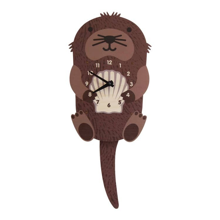 Otter Pendulum Clock