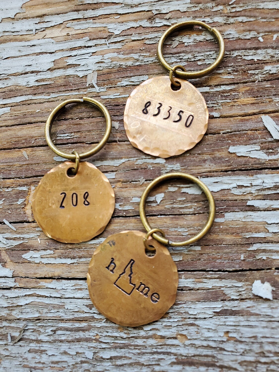 The Traveling Penny Keychain