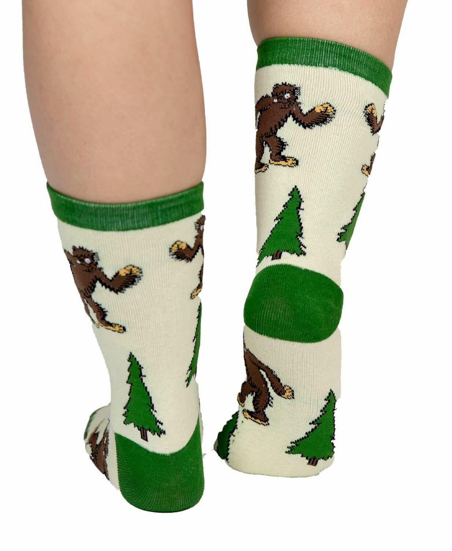 I Believe Bigfoot Crew Sock