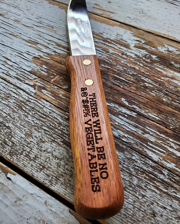 Steak Knife - Engraved
