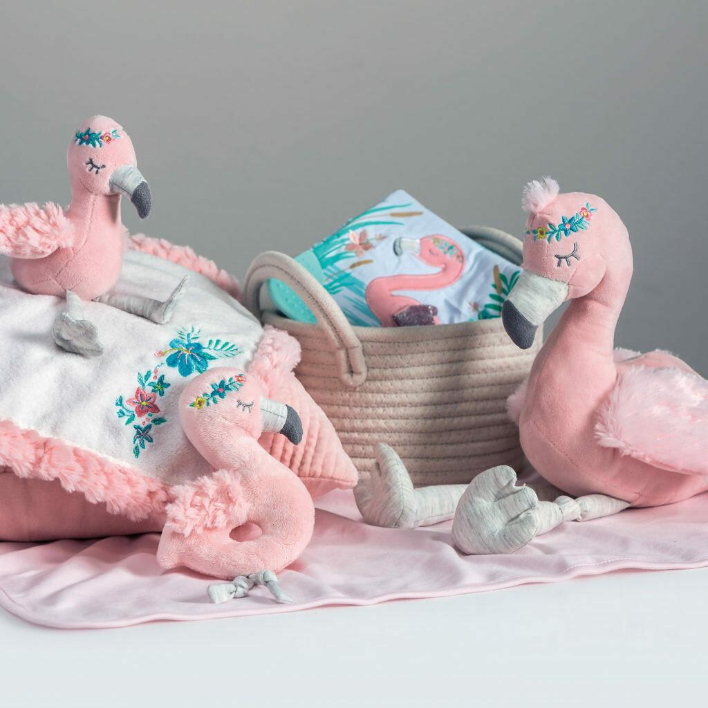 Tingo Flamingo Character Blanket
