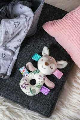 Flora Fawn Rattle
