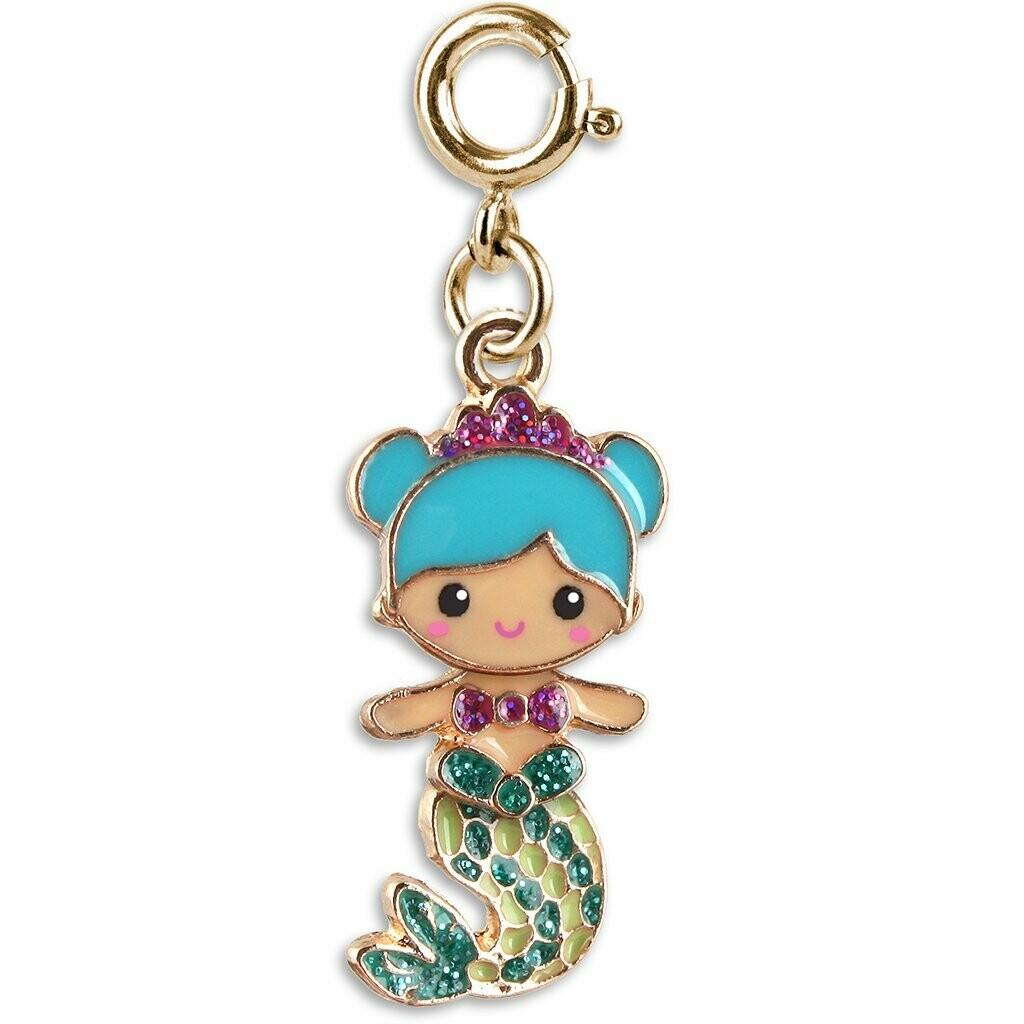 Gold Swivel Mermaid Charm