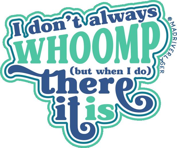 Whoomp Sticker