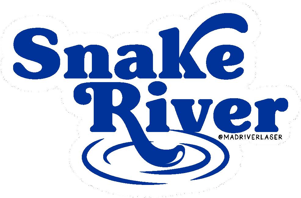 Snake River Sticker