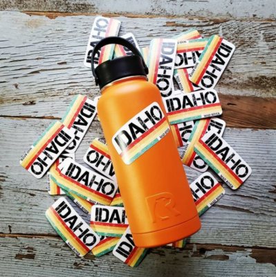 Idaho Patch Sticker (customizable)