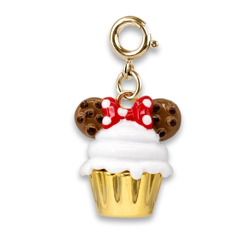 Gold Minnie Cupcake