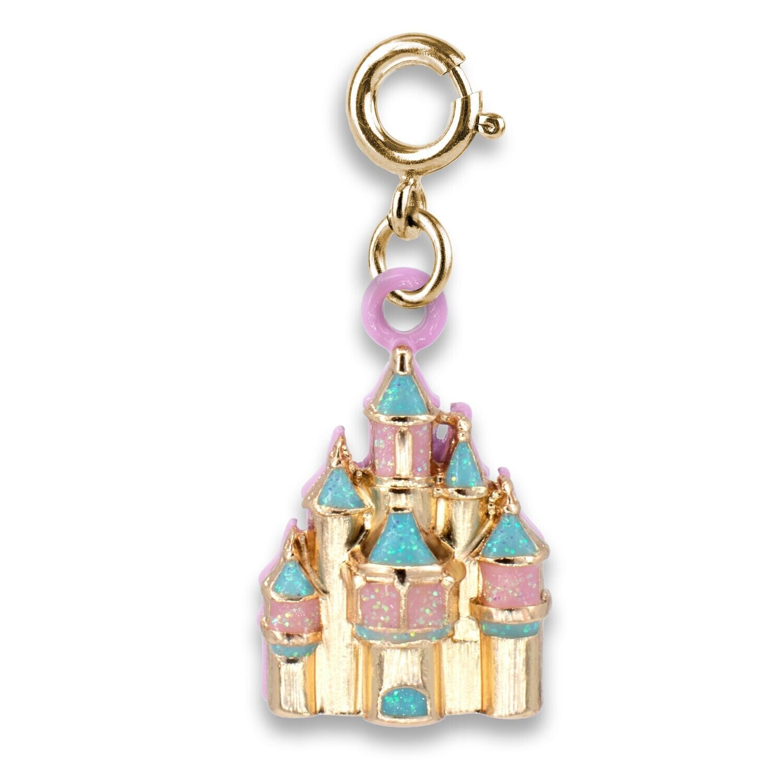 Gold Castle Charm