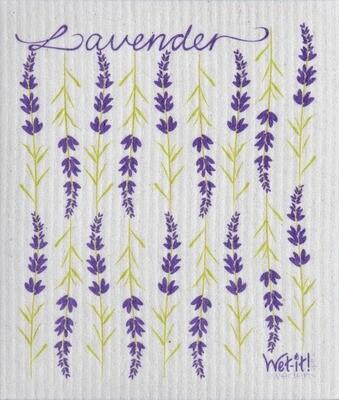 lavender wet-it cloth