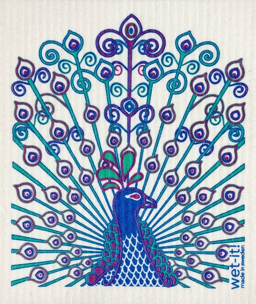 Peacock Wet-it Cloth