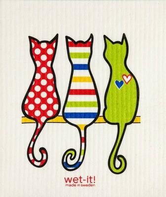 Cat Lover Multi Swedish Cloth
