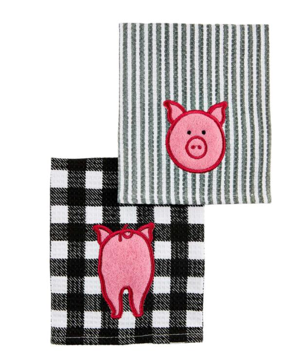 Pig Scrubber Dishcloth