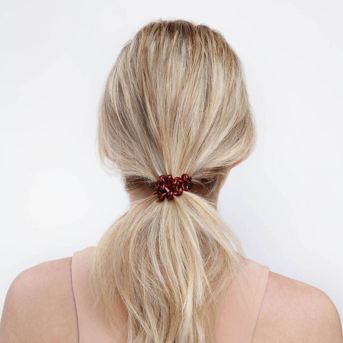 Slick Hair Coil Brunette