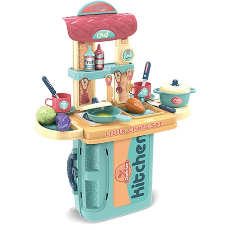 Chef Kitchen Playset in a Case