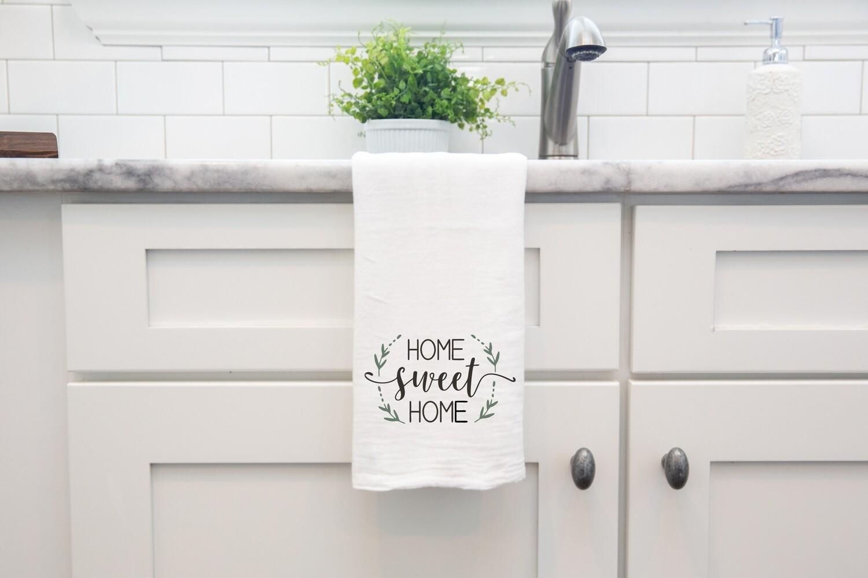 Flour Sack Towel - Home sweet Home