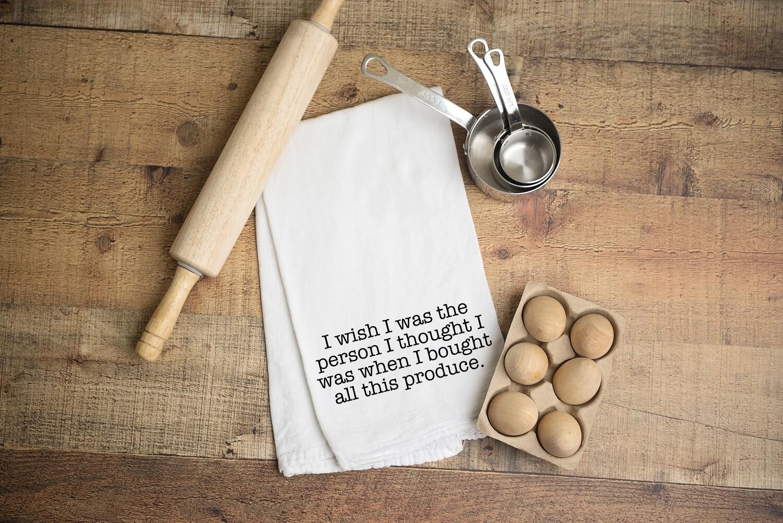 Flour Sack Towel - Produce
