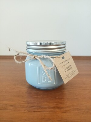 LAVENDER & MARINE SCENTED CANDLE