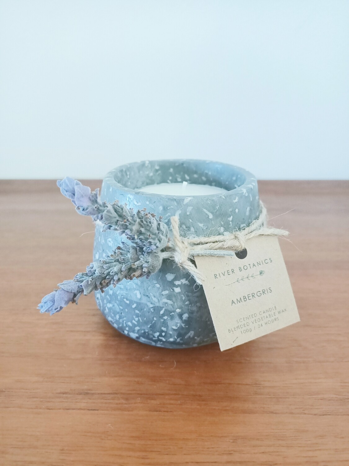 AMBERGRIS SCENTED CANDLE
