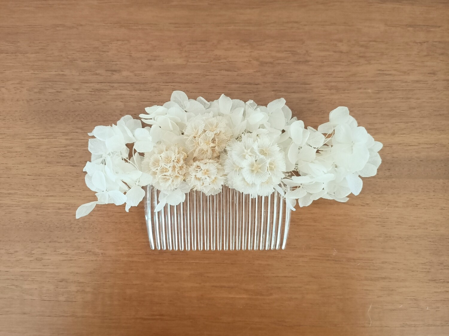 IVORY HAIR COMB