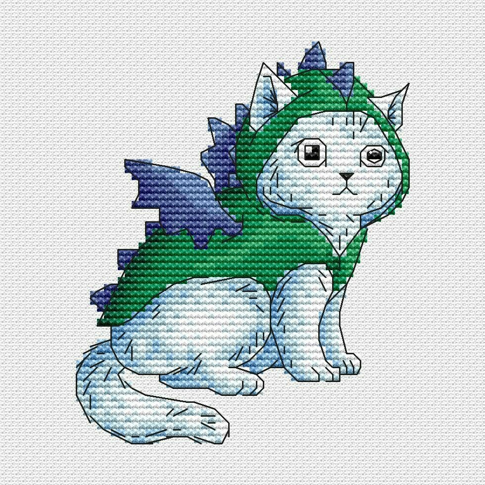 Кот дракон