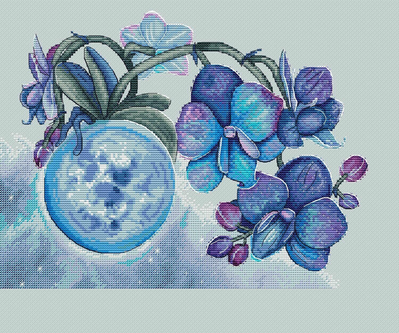 Лунная орхидея