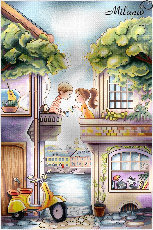 Любовь это... утро на двоих